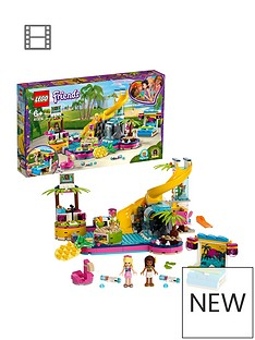 LEGO Friends 41374 Andrea's Pool Party Toy