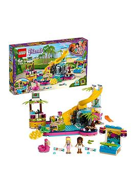 Lego Friends 41374 Andrea&Rsquo;S Pool Party Toy