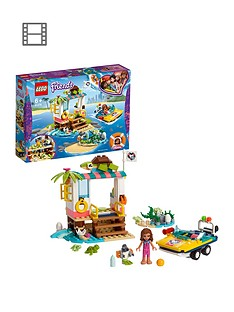 LEGO Friends 41376 Turtles Rescue Mission Set