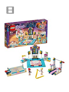 LEGO Friends 41762 Stephanie's Gymnastics Show Set