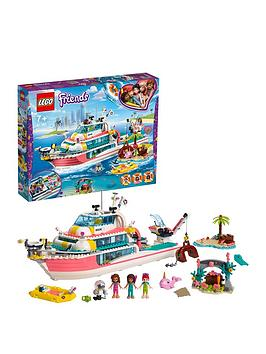 Lego Friends 41381 Rescue Mission Boat Toy With Mini Dolls Best Price, Cheapest Prices