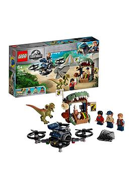 LEGO 75934 Jurassic World Dilophosaurus on The Loose Set with 3 Minifigures, Drone and Dinosaur Figure, Multicolour Best Price and Cheapest