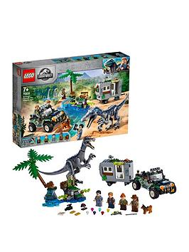 Lego Jurassic World 75935 The Treasure Hunt Set
