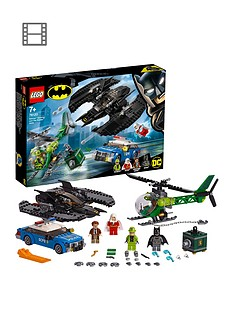 LEGO Super Heroes 76120 Batwing and The Riddler Heist Toy
