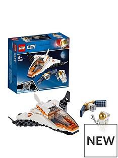 LEGO City 60224 Satellite Service Mission Space Port Mini Shuttle