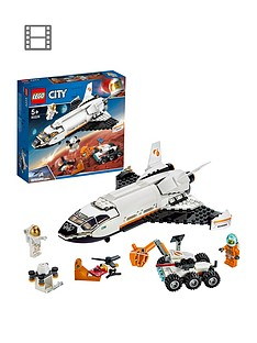 LEGO City 60226 Mars Research Shuttle, Space Port with Rover and Drone