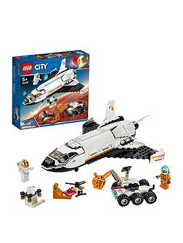 LEGO 60226 City Mars Research Shuttle Spaceship Construction Toys for Kids Inspired by NASA with Rover and Drone Best Price and Cheapest