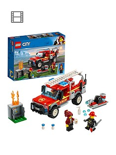 LEGO City 60231 Fire Chief Response Truck with Water Cannon