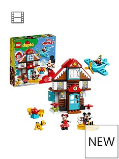 LEGO Duplo 10889 Disney Mickey's Vacation House Toy