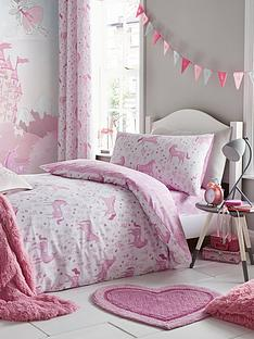 catherine-lansfield-nbspfolk-unicorn-junior-duvet-cover-set
