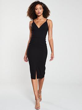v-by-very-valentina-crepe-midi-dress-black