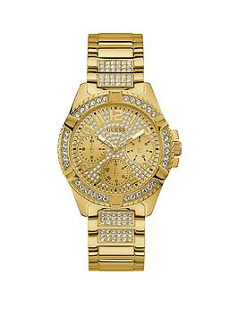guess-guess-lady-frontier-gold-and-crystal-set-multi-dial-gold-crystal-set-stainless-steel-bracelet-ladies-watch