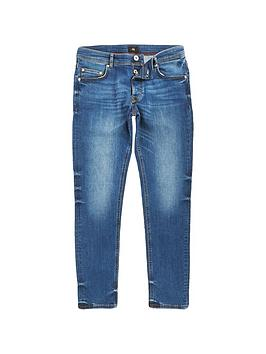 river-island-big-and-tall-blue-skinny-straight-leg-jeans