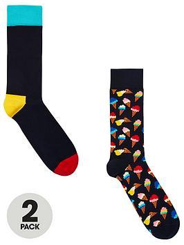 happy-socks-twonbsppacknbspsocks-multi-coloured
