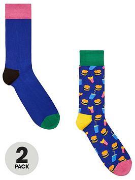 happy-socks-2pk-socks