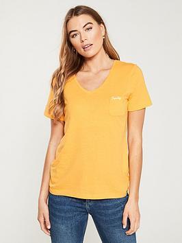 superdry-orange-label-essential-vee-tee-desert-ochre