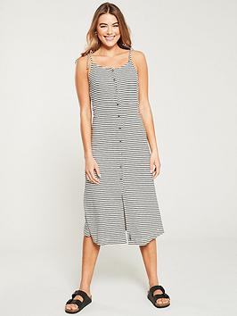 superdry-charlotte-button-down-midi-dress-monochrome-stripe