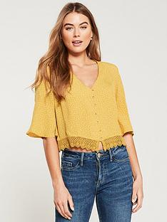 superdry-joesphine-lace-spot-top-ochre