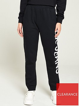calvin-klein-jeans-side-logo-joggers-black