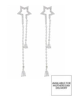 accessorize-shooting-star-drop-earrings-silver