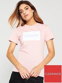 calvin-klein-jeans-institutional-box-slim-t-shirt-pink