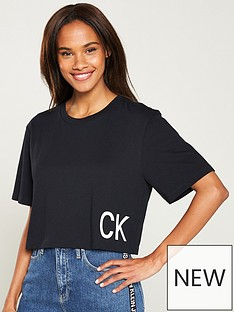03417a25c7a3ad Calvin klein jeans | Tops & t-shirts | Women | www.very.co.uk