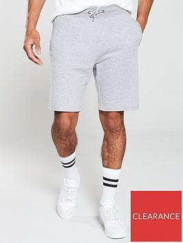 v-by-very-essential-jog-shorts-grey