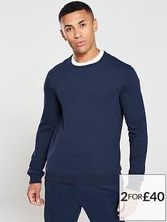 v-by-very-essentials-crew-neck-sweater-navy