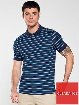 v-by-very-yarn-dyed-striped-jersey-polo-navy