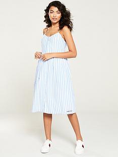 6389b03f9 Tommy Jeans Summer Stripe Strap Dress - Blue Stripe