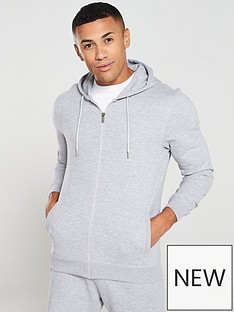 v-by-very-essentials-zip-through-hoodie-grey-marl