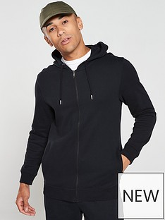 v-by-very-essentials-zip-through-hoodie-black