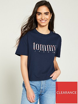 tommy-jeans-floral-embroidery-t-shirt-black-iris