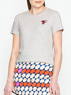 lulu-guinness-tara-sequin-lips-t-shirt-grey