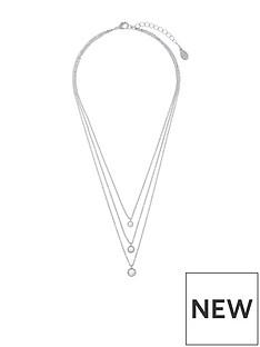 accessorize-swarovski-layered-stone-pendant-silver