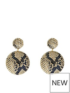 accessorize-fabric-covered-earrings-grey