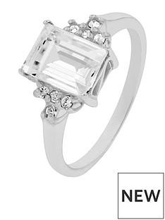 accessorize-sterling-silvernbspswarovski-emerald-cut-ring-silver