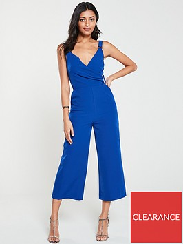 v-by-very-buckle-detail-culotte-jumpsuit-blue