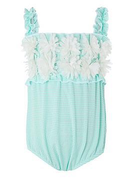 monsoon-baby-girlsnbsparabellanbspswimsuit-turquoise