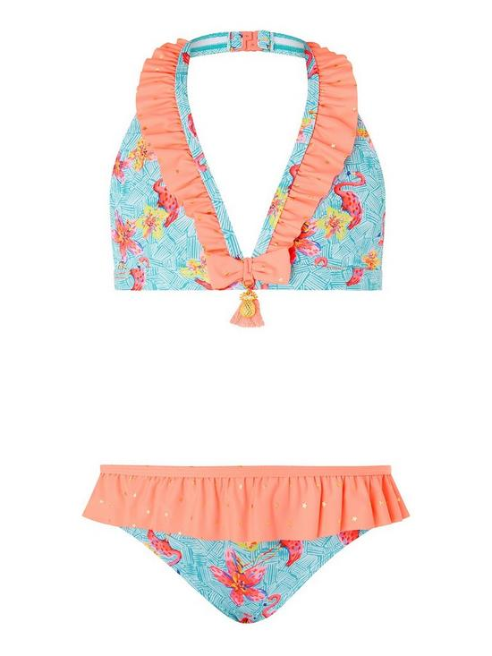 9801c5cfcb Monsoon SKYE FLAMINGO BIKINI | very.co.uk