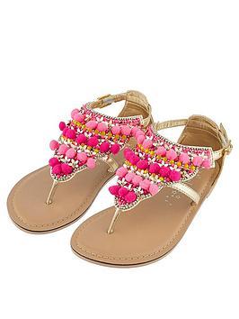 accessorize-girls-little-senorita-pom-pom-sandal