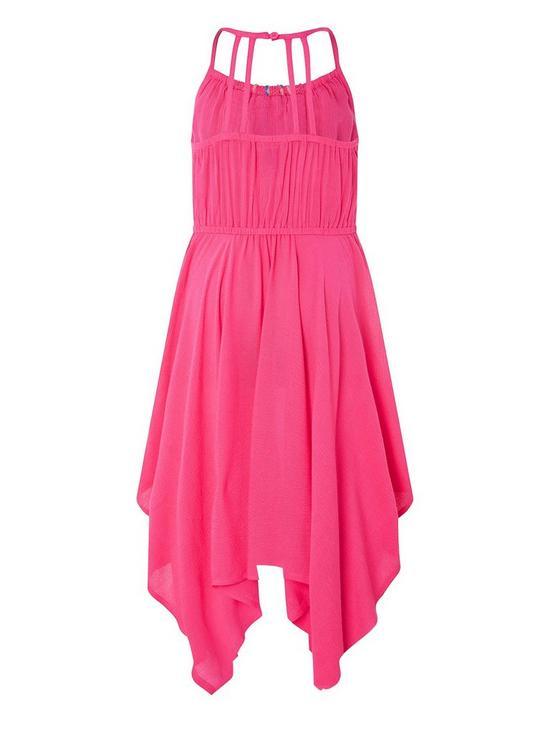 42e5853b6cd3 Monsoon Girls Carriella Dress - Pink | very.co.uk