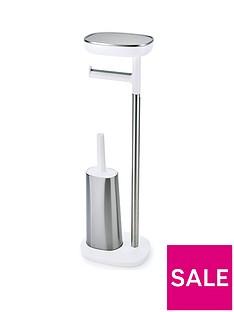 joseph-joseph-easystore-butler-plus-standing-toilet-roll-holder-with-flex-steel-toilet-brush