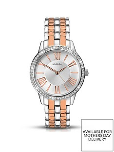 sekonda-sekonda-silver-with-rose-gold-detail-and-crystal-set-dial-two-tone-stainless-steel-bracelet-ladies-watch