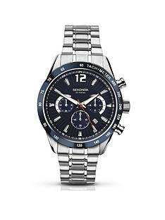 sekonda-sekonda-blue-chronograph-dial-stainless-steel-bracelet-mens-watch