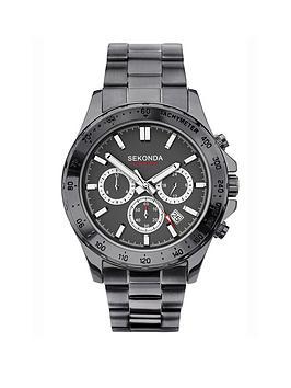 sekonda-sekonda-black-and-silver-detail-chronograph-dial-black-stainless-steel-bracelet-mens-watch