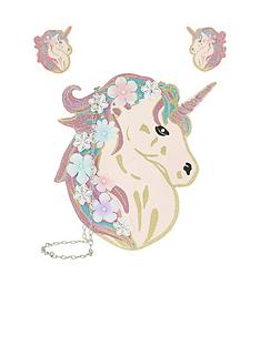 monsoon-monsoon-celeste-glitter-unicorn-bag-hair-set