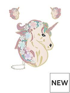 monsoon-monsoon-celeste-glitter-unicorn-bag-hair-set