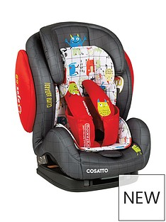 Cosatto Cosatto Hug Group 123 Isofix Car Seat - Monster Mob