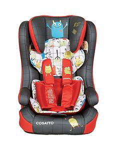 Cosatto Cosatto Hubbub Group 123 Isofix Car Seat -Monster Mob